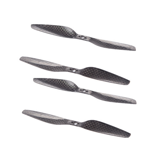 2 Pairs 6030 3-Hole Carbon Fiber Propeller