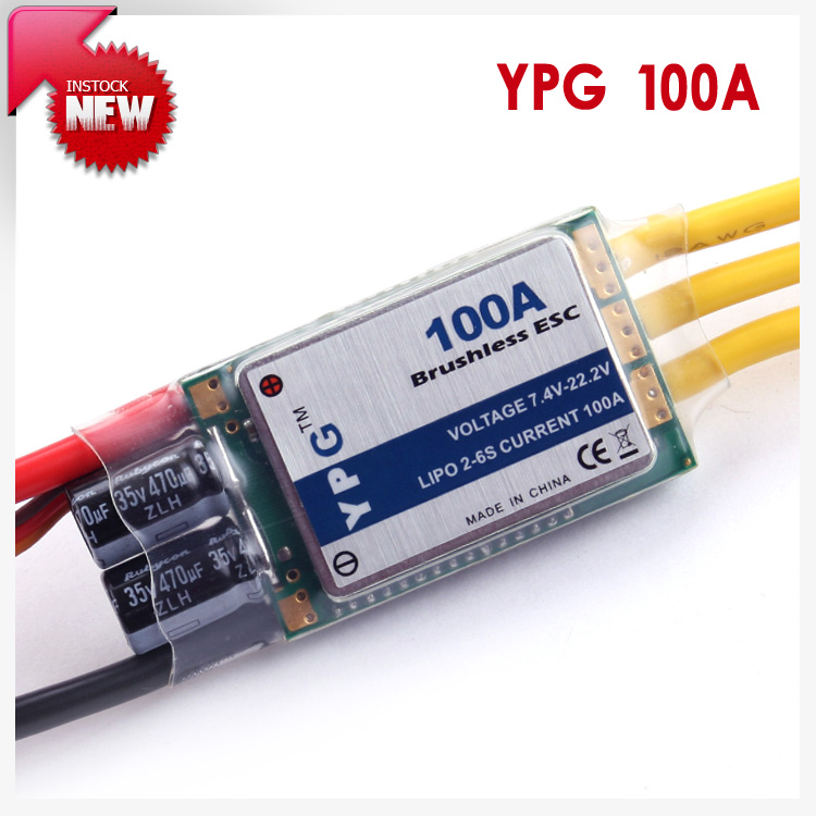YPG LV-100A brushless ESC