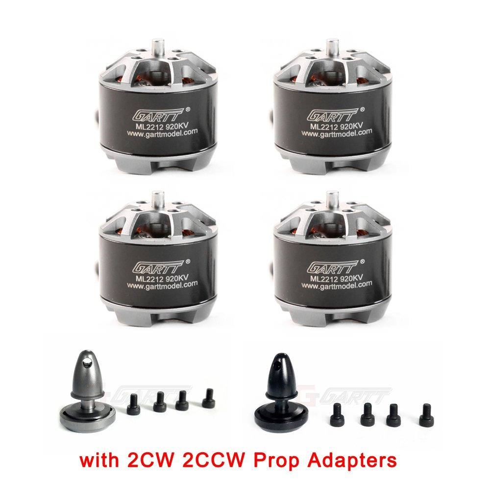 4Pcs ML2212 920KV Brushless Motor with Self-locking Adapter
