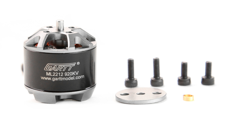 4Pcs ML2212 920KV Brushless Motor with Self-locking Adapter - Click Image to Close