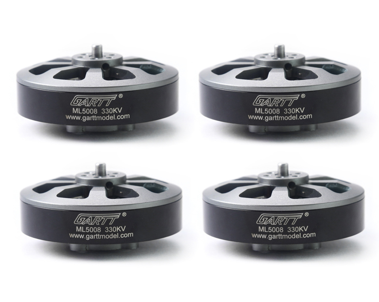 4Pcs ML5008 330KV Brushless Motor