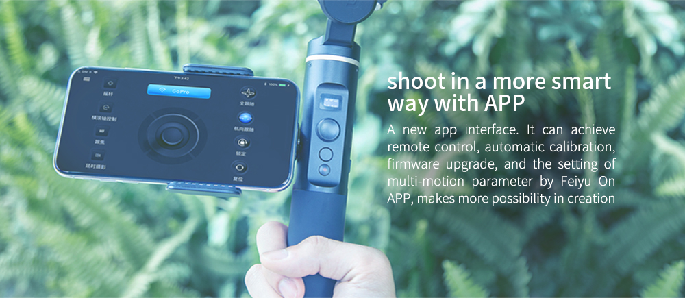 FeiyuTech G6 Splashproof Handheld Gimbal with OLED Screen - Click Image to Close