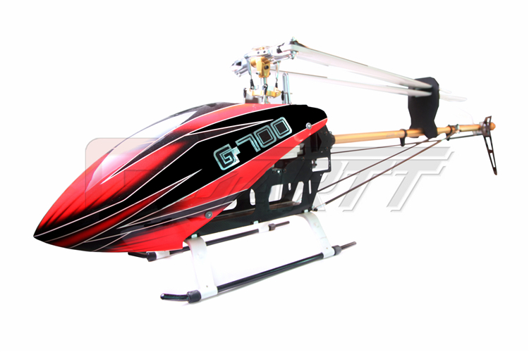 GARTT heli kit with GF Fire canopy without blade