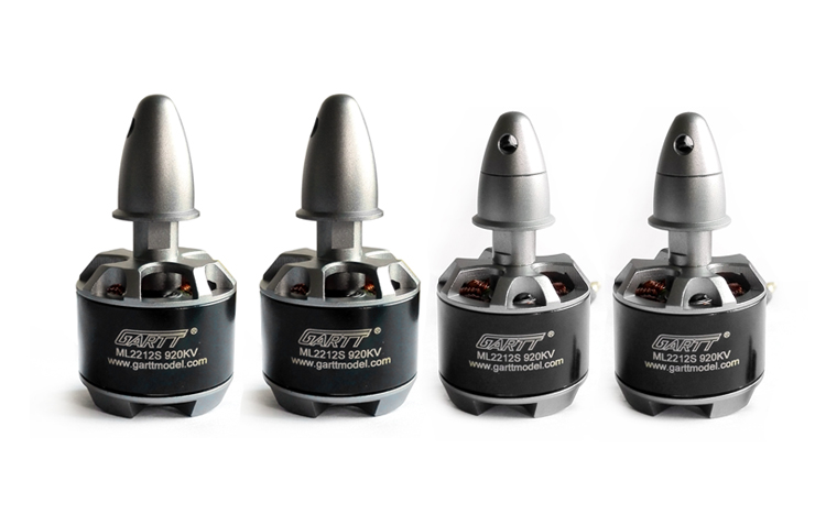 4Pcs ML2212S 920KV Brushless Motor + 4Pcs 2-3S 40A SKYWALKER ESC
