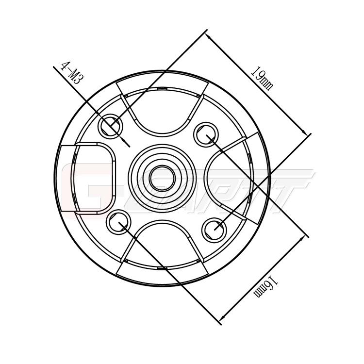 Ml2212s 920kv Brushless Motor Cw Mt 012