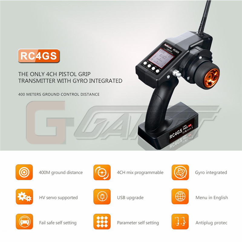 RC4GS transmitter & receiver