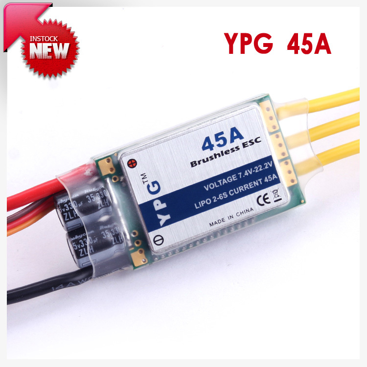 YPG LV-45A brushless ESC
