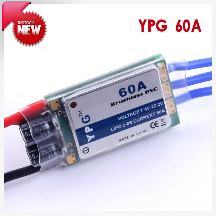 YPG LV-60A brushless ESC