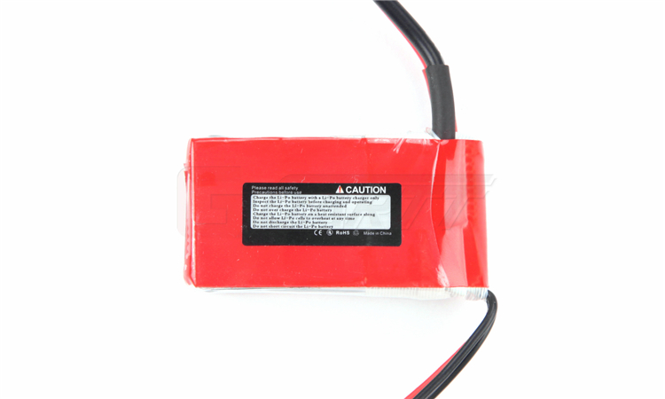 2Pcs YPG 7.4V 850mAh 25C 2S LiPo Battery with Traxxas Connector - Click Image to Close